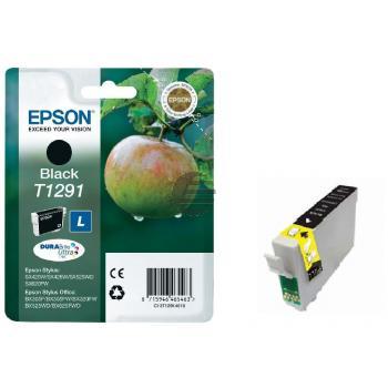 Epson Tintenpatrone schwarz HC (C13T12914012, T1291)