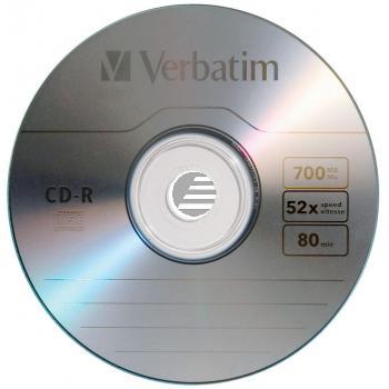 VERBATIM CDR80 700MB 52x (100) SP 43411 Spindel extra Schutz