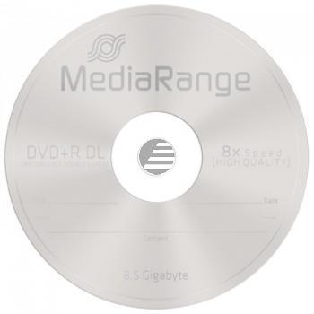 MEDIARANGE DVD+R DL 8.5GB 8x (10) CB MR466 Cake Box