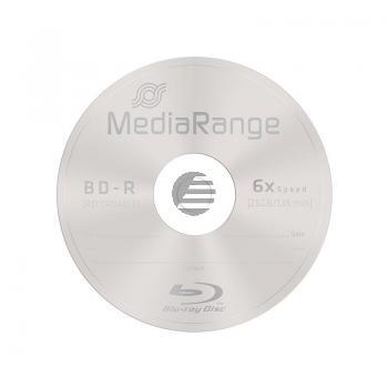 MEDIARANGE BD-R 25GB 6x (10) CB MR499 Cake Box