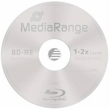 MEDIARANGE BD-RE 25GB 2x(10) CB MR501 Cake Box wiederbeschreibbar