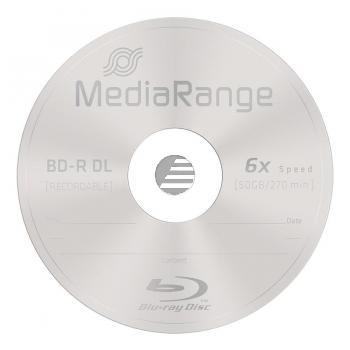 MEDIARANGE BD-R DL 50GB 6x (10) CB MR507 Cake Box