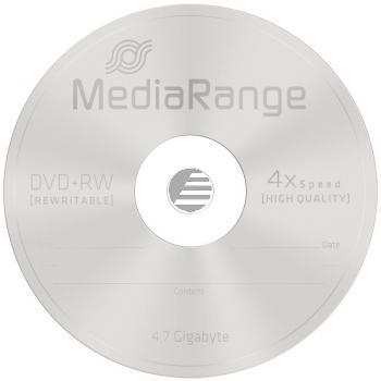 MEDIARANGE DVD+RW 4.7GB 4x (10) CB MR451 Cake Box