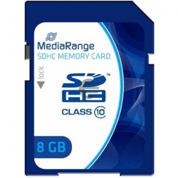 MEDIARANGE SDHC SPEICHERKARTE 8GB MR962 Klasse 10