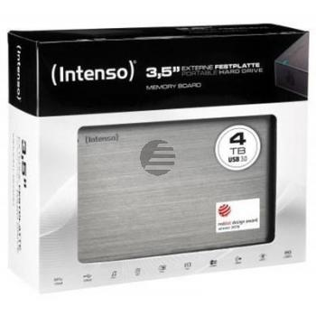 INTENSO 3.5 HDD FESTPLATTE EXTERN 4TB 6033512 USB 3.0 stationaer anthrazit