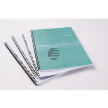 Fellowes Binderücken A4 14 mm Metall für 101-130 Blatt silber 100er-Pack