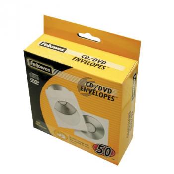 Fellowes DVD/CD Hülle (50) Papierhüllen weiß