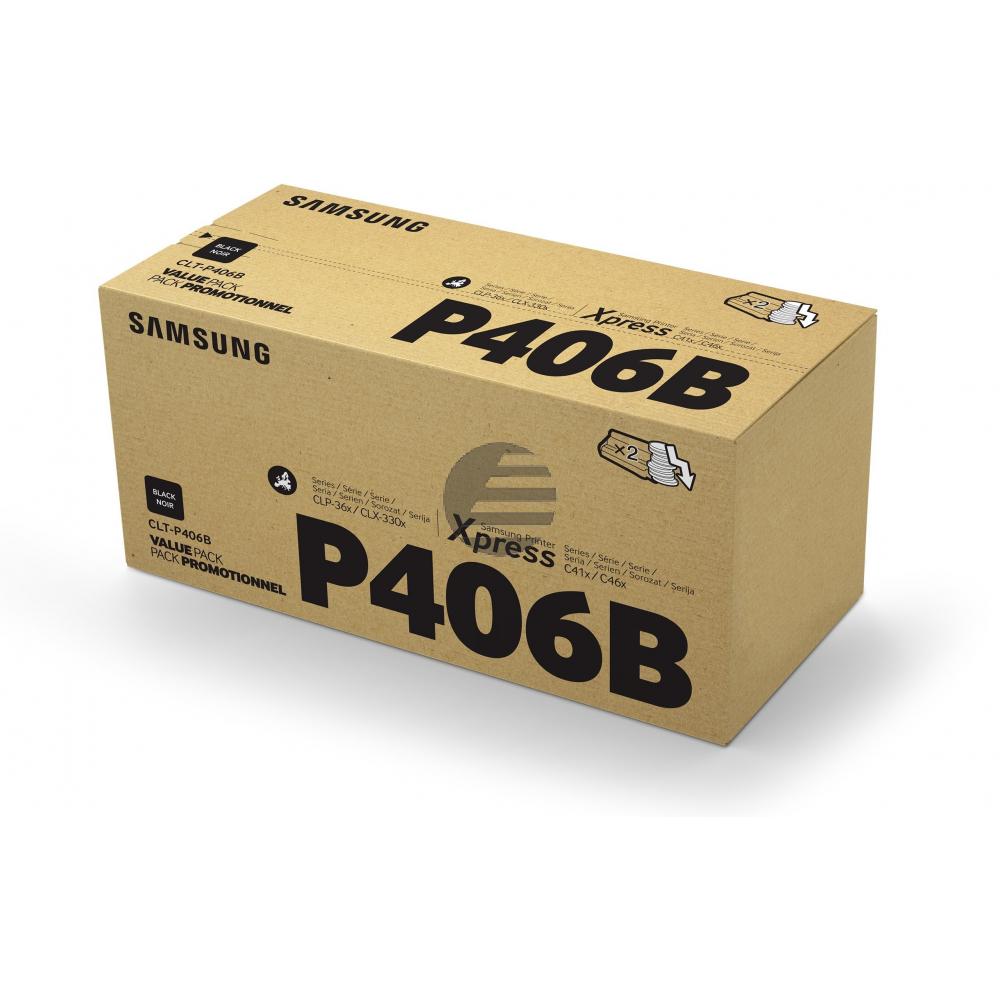 HP Toner-Kit 2 x schwarz 2-Pack (SU374A)