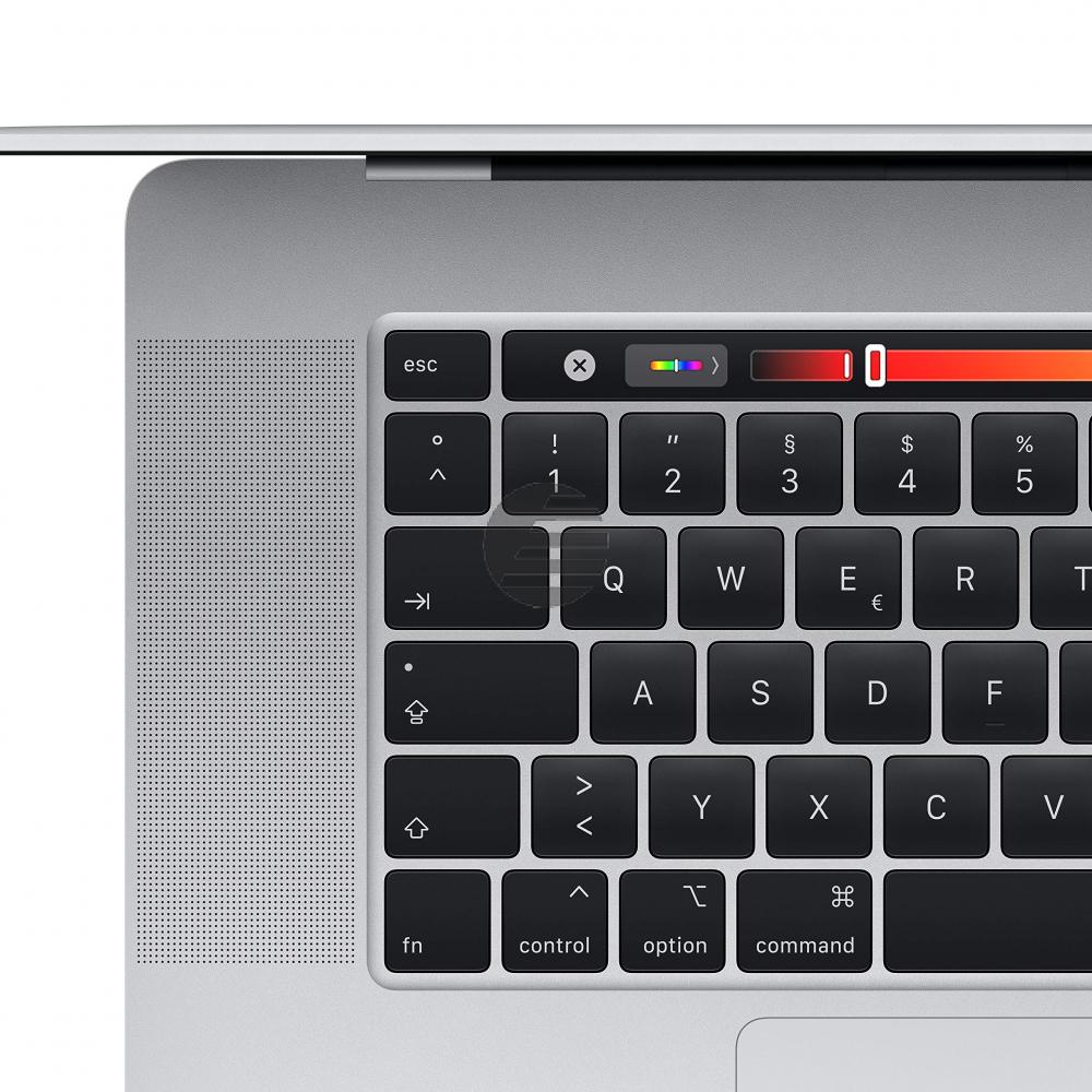 Apple MacBook Pro 2019 (16'', 2,6 GHz i9 6-Core, 16 GB, 512 GB) silber