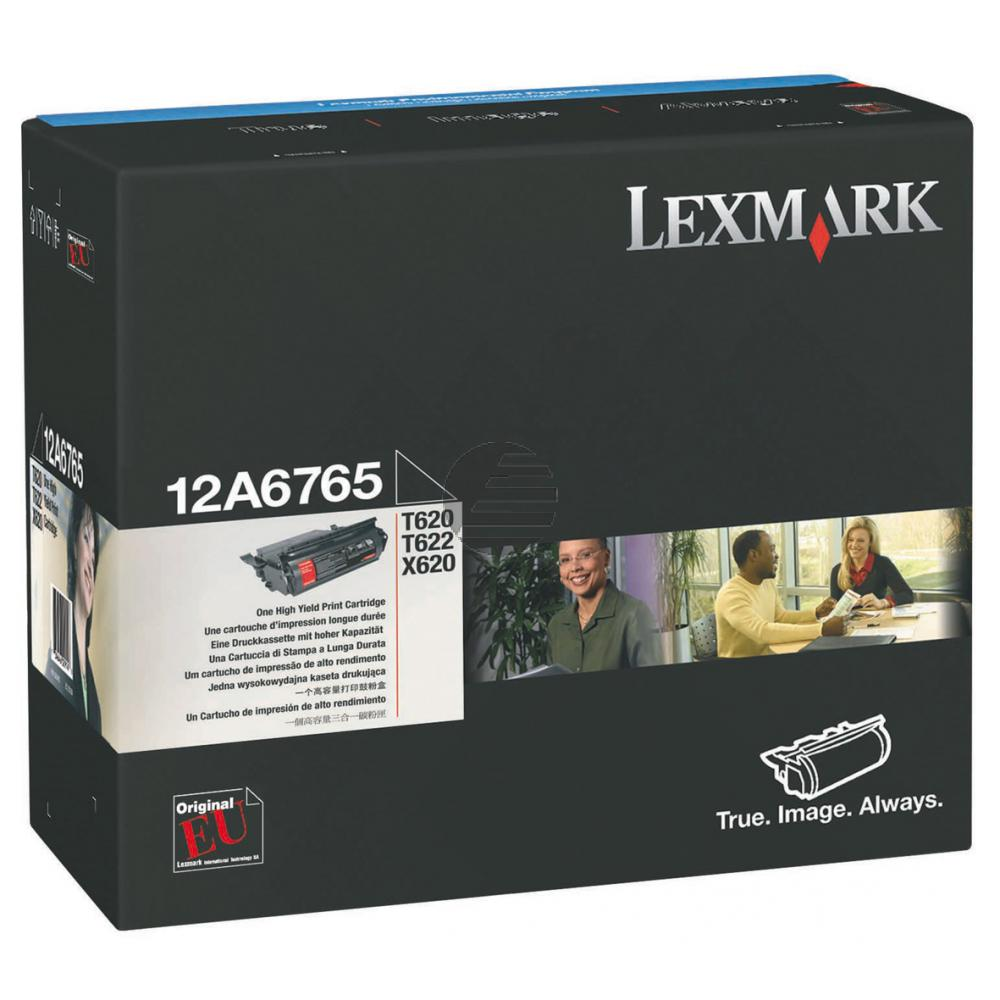Lexmark Toner-Kartusche schwarz HC (12A6765) ersetzt DT47BLK