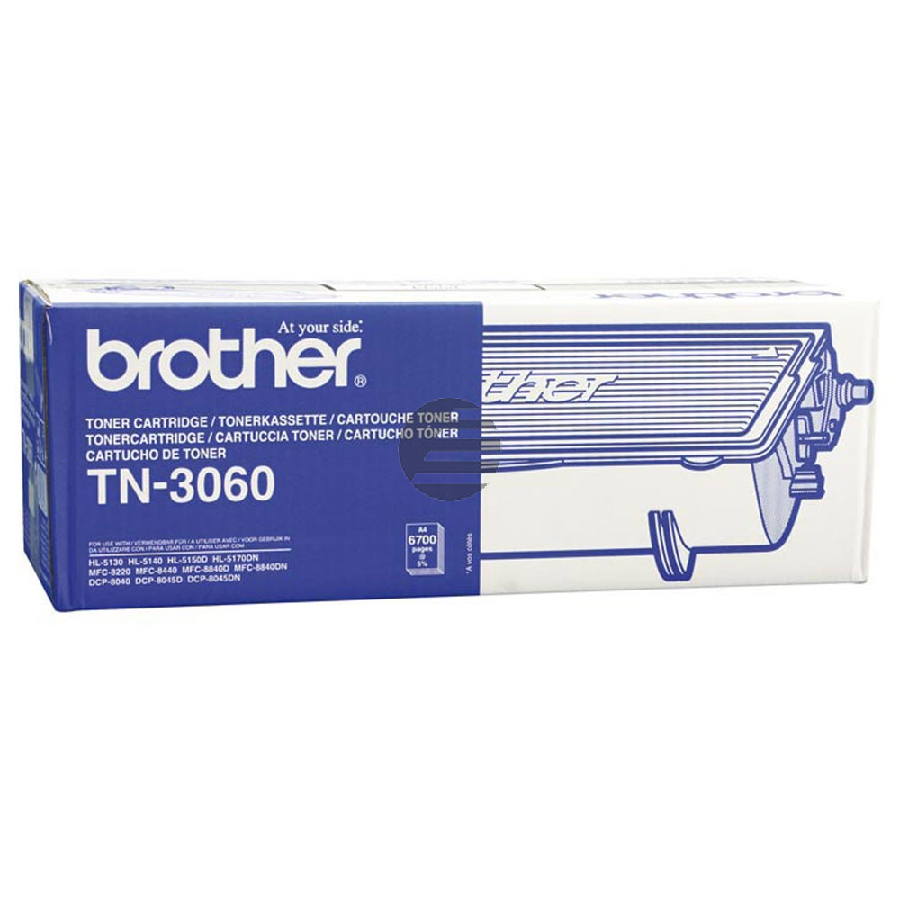 Brother Toner-Kit schwarz HC (TN-3060)