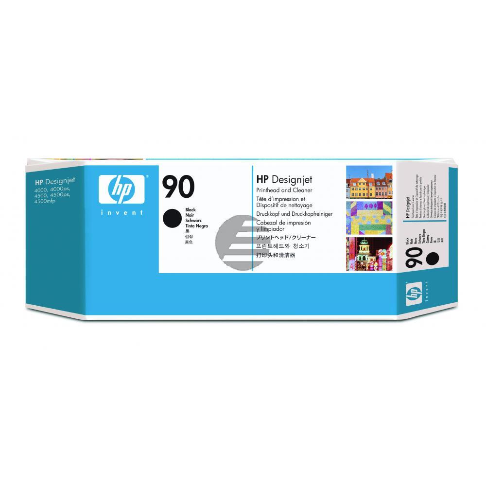 HP Tintendruckkopf Tintendruckkopf-Reiniger schwarz (C5054A, 90)