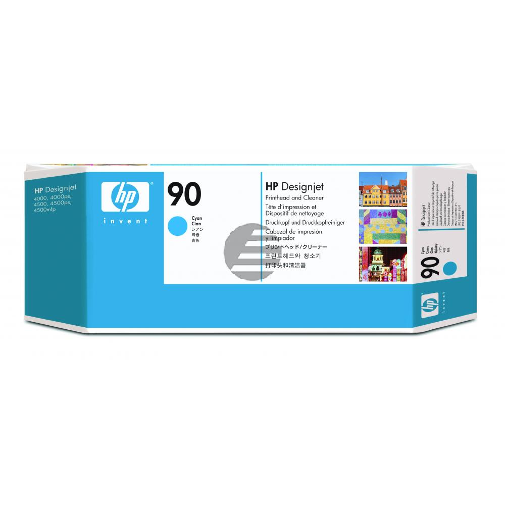 HP Tintendruckkopf Tintendruckkopf-Reiniger cyan (C5055A, 90)
