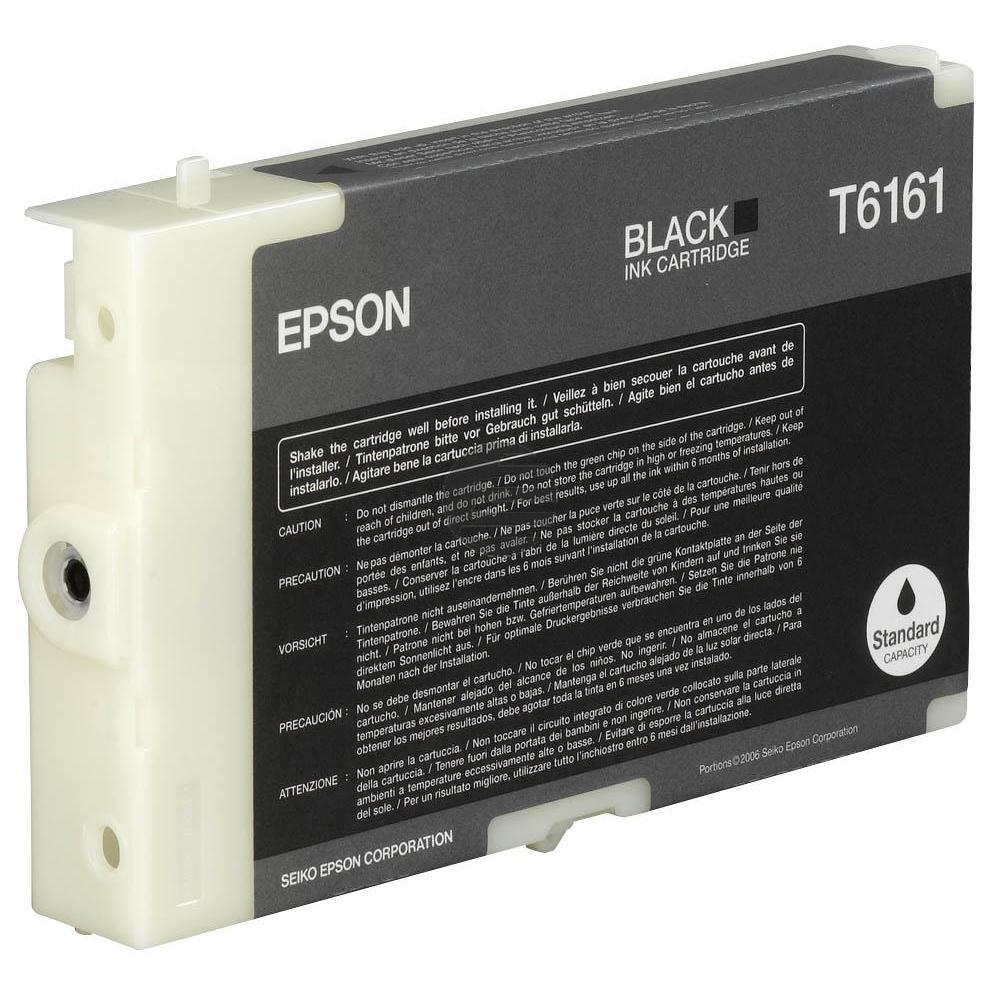 Epson Tintenpatrone schwarz (C13T616100, T6161)