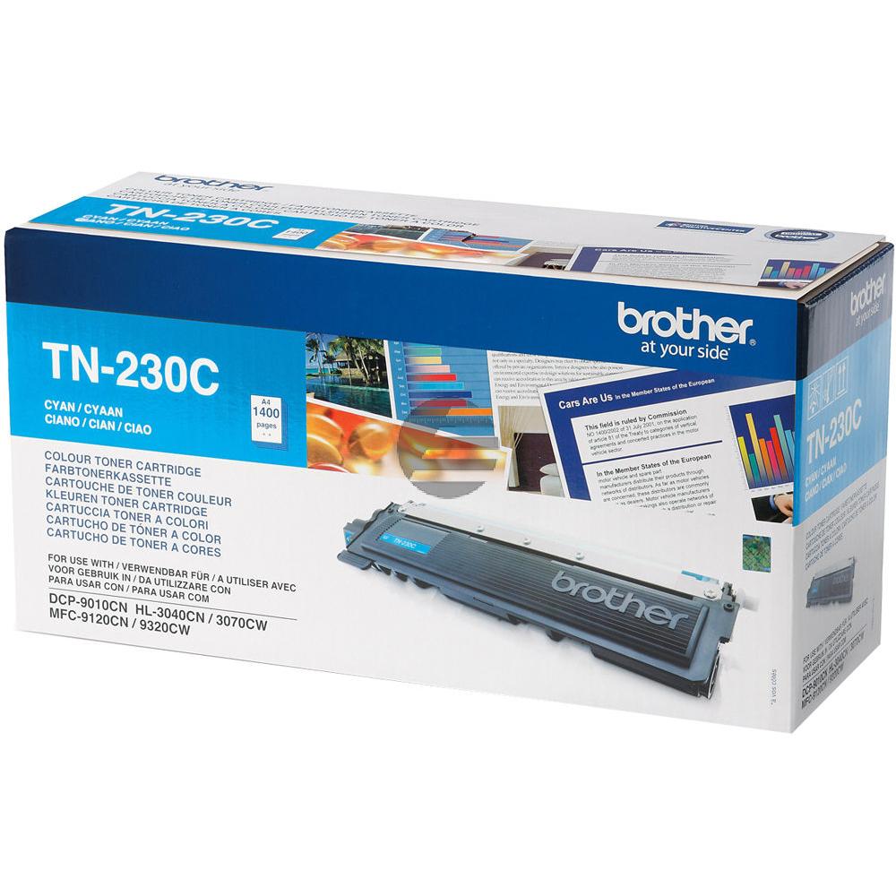 Brother Toner-Kit cyan (TN-230C) ersetzt 007R97035