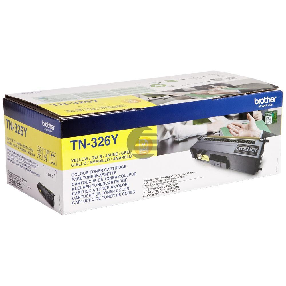 Brother Toner-Kartusche gelb HC (TN-326Y)
