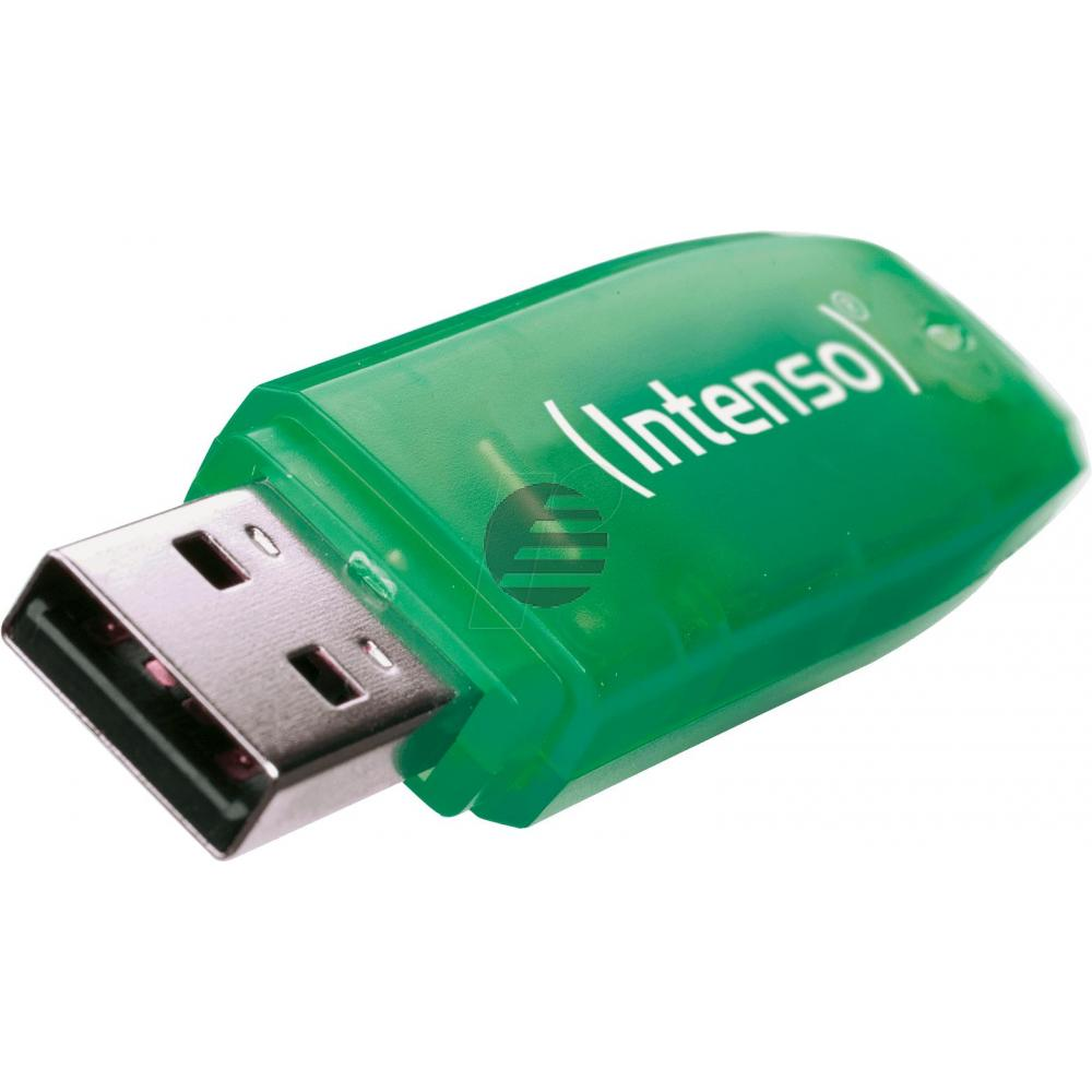 INTENSO USB STICK 2.0 8GB GRUEN 3502460 Rainbow Line