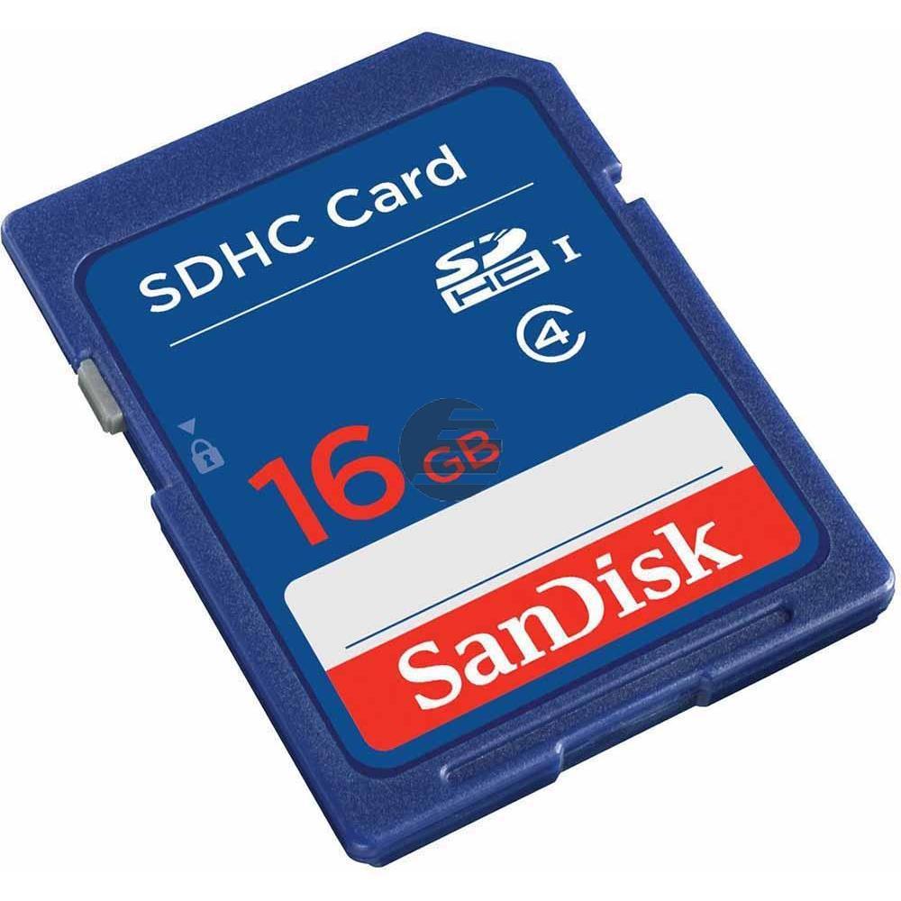 SANDISK SDHC SPEICHERKARTE 16GB SDSDB-016G-B35 Klasse 4