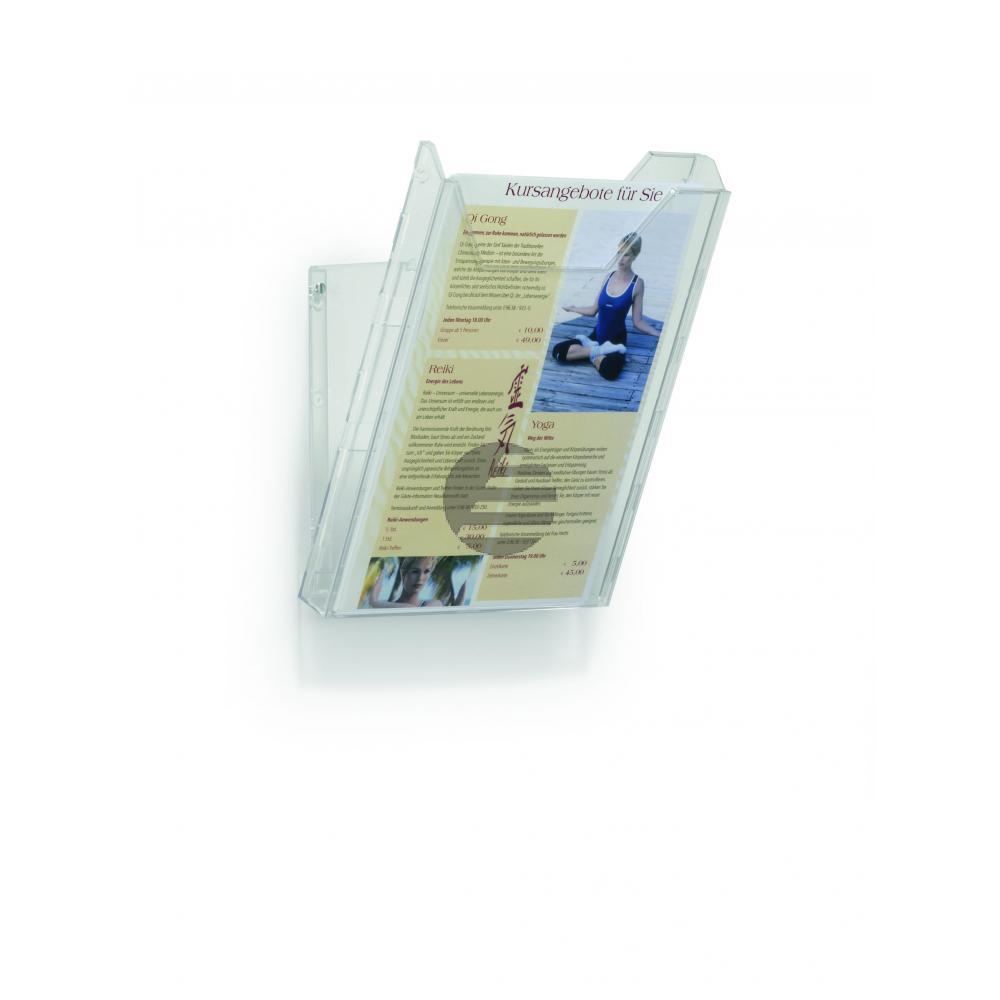 Durable Combiboxx A4 farblos 1 Fach