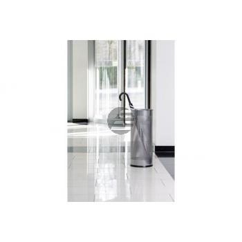 DURABLE Schirmständer rund 28.5lt. 335023 silber, Metall 620x260mm