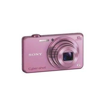 Sony DSC-WX220P Kompaktkamera mit optischem 10-fach-Zoom, pink