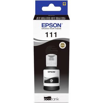 Epson Tintenflasche schwarz (C13T03M140, 111)