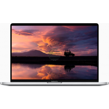 Apple MacBook Pro 2019 (16'', 2,3 GHz i9 8-Core, 16 GB, 1 TB) silber