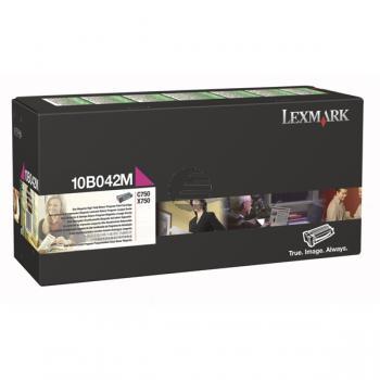 Lexmark Toner-Kartusche Prebate magenta HC (10B042M)