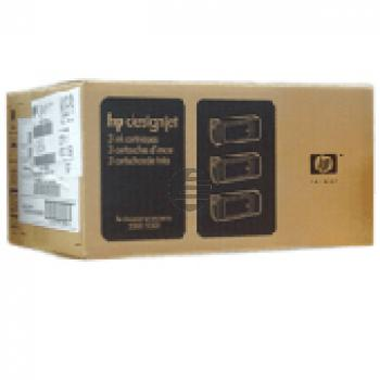 HP Tintenpatrone 3 x schwarz (C5066A, 81)