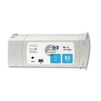 HP Tintenpatrone UV-Tintensystem 3 x cyan (C5073A, 83)