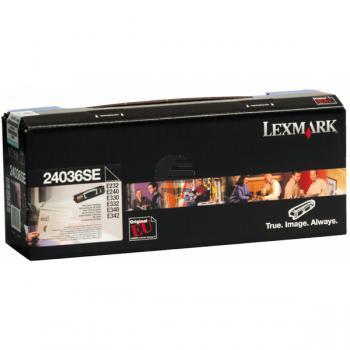 Lexmark Toner-Kartusche schwarz (24036SE) ersetzt 106R01549