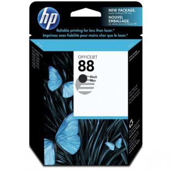 HP Tintenpatrone schwarz (C9385AE, 88)