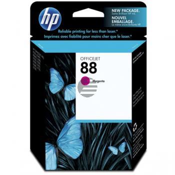 HP Tintenpatrone magenta (C9387AE, 88)