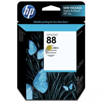 HP Tintenpatrone gelb (C9388AE, 88)