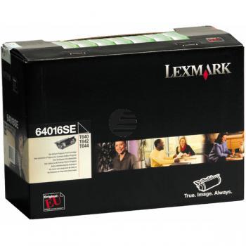Lexmark Toner-Kartusche Prebate schwarz (64016SE)