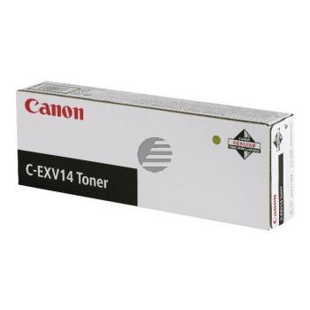 Canon Toner-Kit schwarz (0384B006, C-EXV14BK)