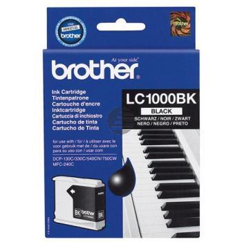 Brother Tintenpatrone schwarz (LC-1000BK)