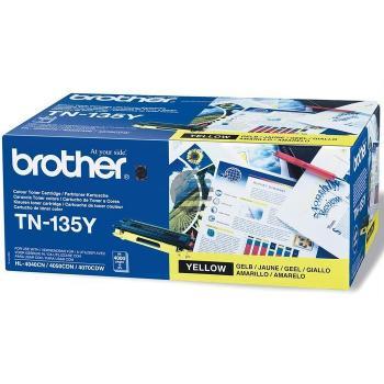Brother Toner-Kit gelb HC (TN-135Y) ersetzt 007R97033