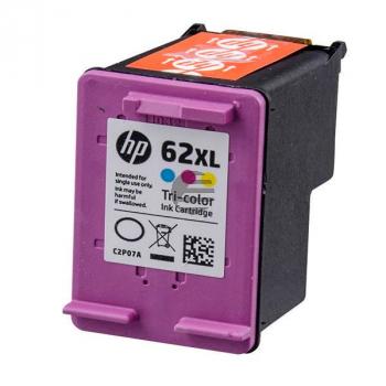 HP Tintendruckkopf cyan/gelb/magenta HC (C2P07AE, 62XL)