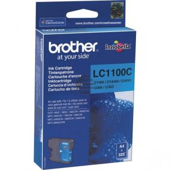 Brother Tintenpatrone cyan (LC-1100C)