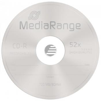 MEDIARANGE CDR80 700MB 52x (100) CB MR204 Cake Box