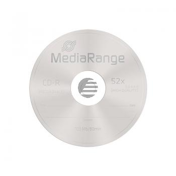 MEDIARANGE CDR80 700MB 52x (50) CB MR207 Cake Box