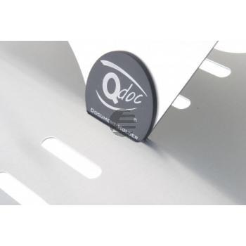 BNEQDOC400 BAKKER DOKUMENTENHALTER Q-Doc400 mobil transparent