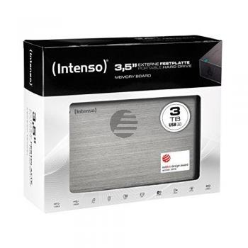 INTENSO 3.5 HDD FESTPLATTE EXTERN 3TB 6033511 USB 3.0 stationaer anthrazit