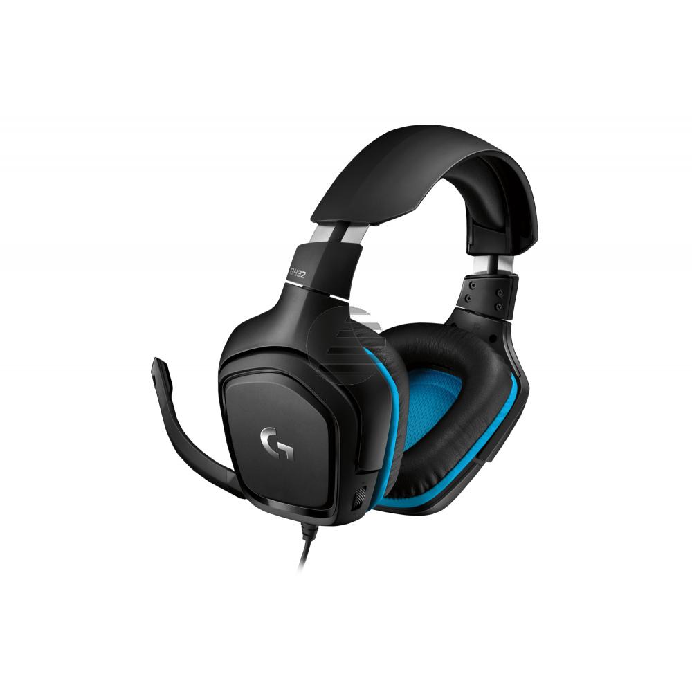 Logitech G432 Gaming Headset (981-000770)