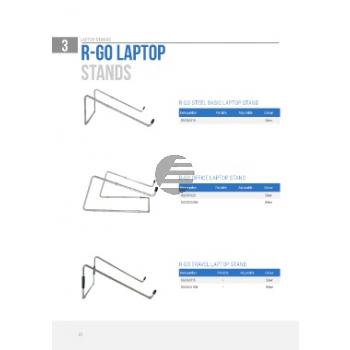 R-GO OFFICE LAPTOPSTAENDER RGOSC020W weiss 10 bis 22