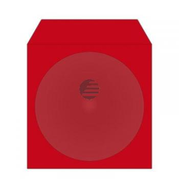 MEDIARANGE CD PAPIERHUELLEN (100) FARBIG BOX67 mit Fenster
