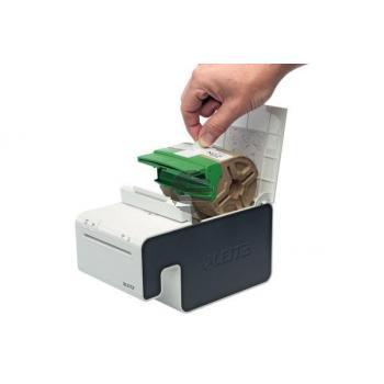 LEITZ Endlosettiket.Kassette PP 70150025 12mmx10m rot permanent