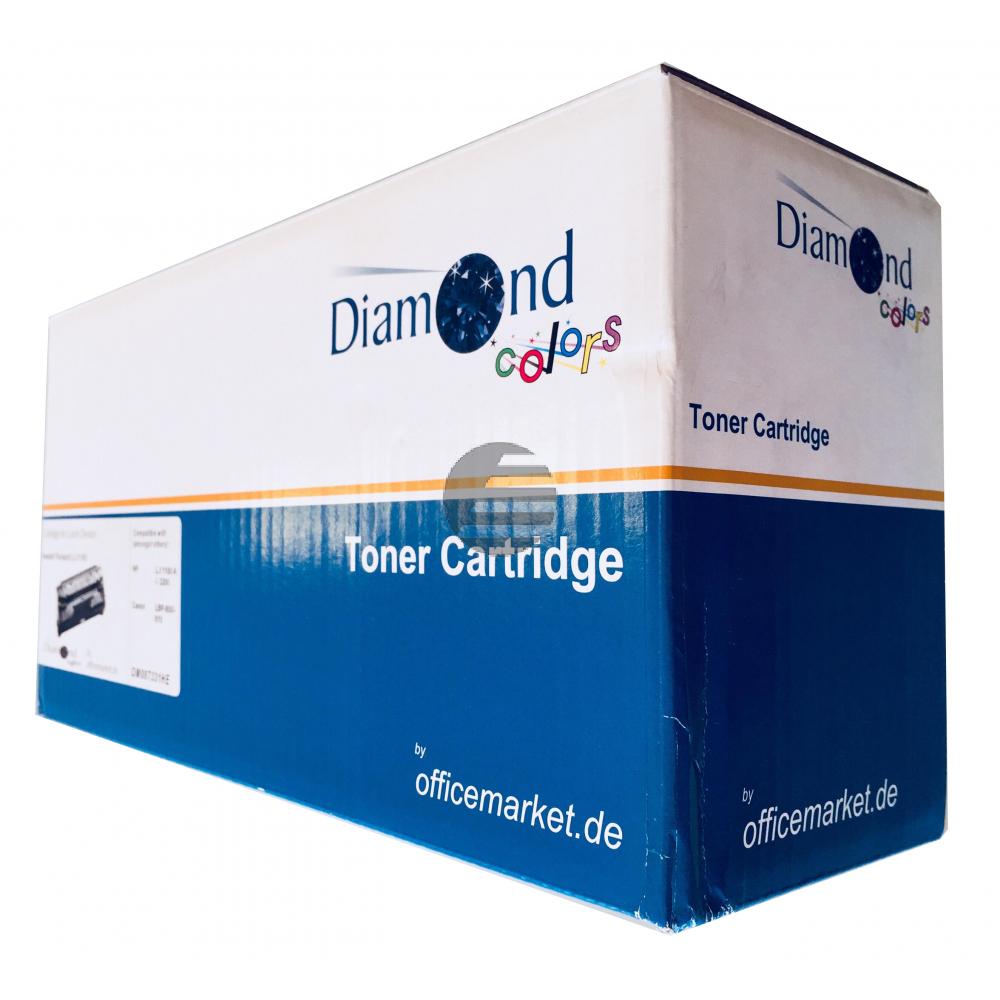 Diamond Colors Tintendruckkopf schwarz HC (DC-HP62BXL) ersetzt 62XL