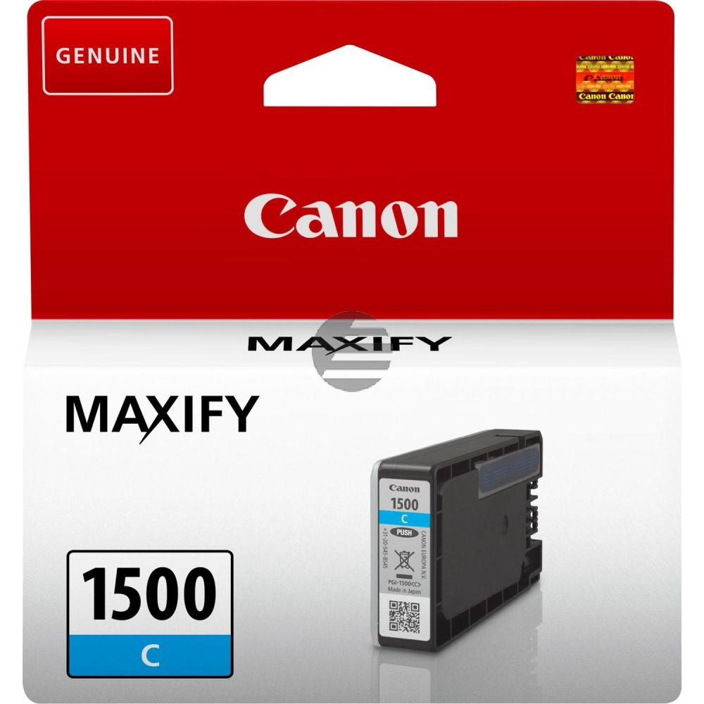 Canon Tintenpatrone cyan (9229B001, PGI-1500C)